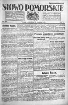Słowo Pomorskie 1921.06.14 R.1 nr 132
