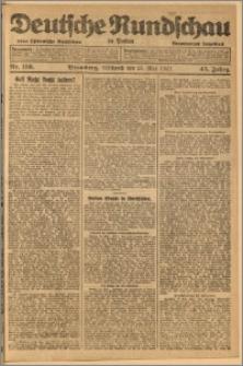 Deutsche Rundschau in Polen. J. 45, 1921, nr 116