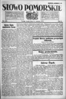 Słowo Pomorskie 1921.06.15 R.1 nr 133