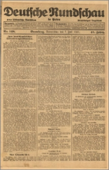Deutsche Rundschau in Polen. J. 45, 1921, nr 148