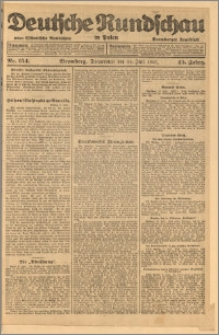Deutsche Rundschau in Polen. J. 45, 1921, nr 154