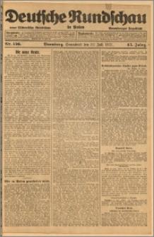 Deutsche Rundschau in Polen. J. 45, 1921, nr 156