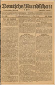 Deutsche Rundschau in Polen. J. 45, 1921, nr 157