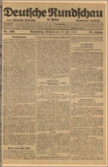 Deutsche Rundschau in Polen. J. 45, 1921, nr 159