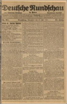 Deutsche Rundschau in Polen. J. 45, 1921, nr 162