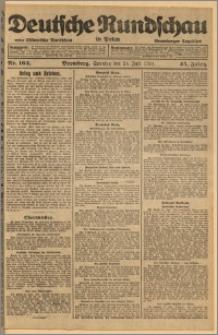 Deutsche Rundschau in Polen. J. 45, 1921, nr 163