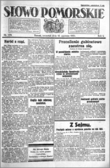 Słowo Pomorskie 1921.06.16 R.1 nr 134