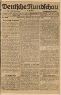 Deutsche Rundschau in Polen. J. 45, 1921, nr 164