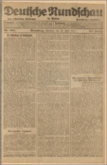 Deutsche Rundschau in Polen. J. 45, 1921, nr 169