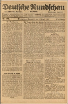 Deutsche Rundschau in Polen. J. 45, 1921, nr 174