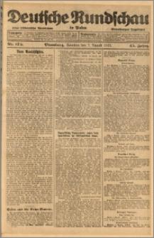 Deutsche Rundschau in Polen. J. 45, 1921, nr 175