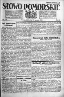 Słowo Pomorskie 1921.06.17 R.1 nr 135