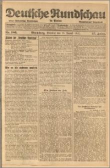 Deutsche Rundschau in Polen. J. 45, 1921, nr 186