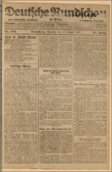 Deutsche Rundschau in Polen. J. 45, 1921, nr 192