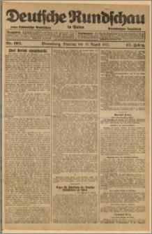 Deutsche Rundschau in Polen. J. 45, 1921, nr 193