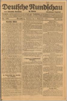 Deutsche Rundschau in Polen. J. 45, 1921, nr 198