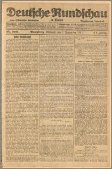 Deutsche Rundschau in Polen. J. 45, 1921, nr 200