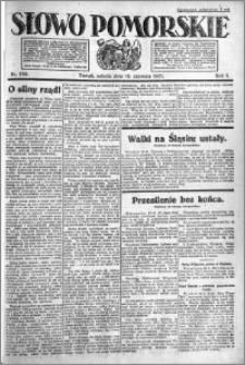Słowo Pomorskie 1921.06.18 R.1 nr 136