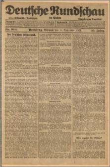 Deutsche Rundschau in Polen. J. 45, 1921, nr 206