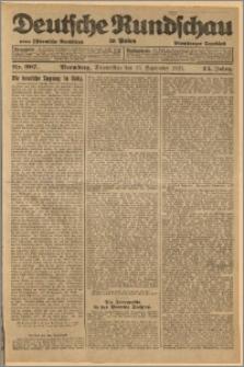 Deutsche Rundschau in Polen. J. 45, 1921, nr 207