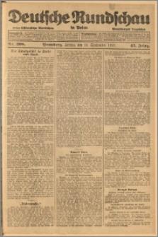 Deutsche Rundschau in Polen. J. 45, 1921, nr 208