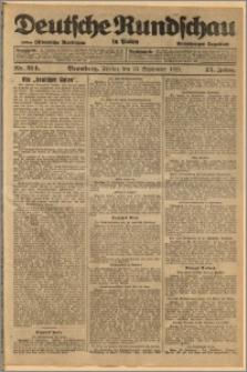 Deutsche Rundschau in Polen. J. 45, 1921, nr 214