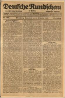 Deutsche Rundschau in Polen. J. 45, 1921, nr 215