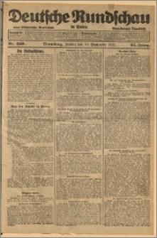 Deutsche Rundschau in Polen. J. 45, 1921, nr 220