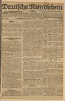 Deutsche Rundschau in Polen. J. 45, 1921, nr 221