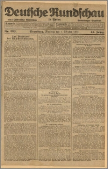 Deutsche Rundschau in Polen. J. 45, 1921, nr 223