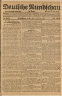 Deutsche Rundschau in Polen. J. 45, 1921, nr 226
