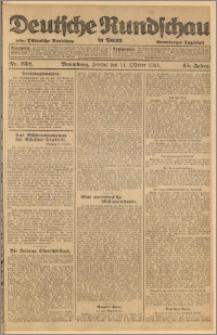 Deutsche Rundschau in Polen. J. 45, 1921, nr 232