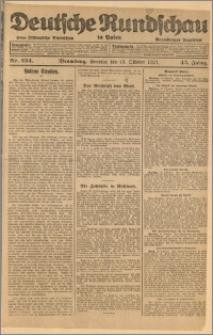 Deutsche Rundschau in Polen. J. 45, 1921, nr 234