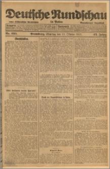 Deutsche Rundschau in Polen. J. 45, 1921, nr 235