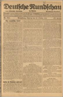 Deutsche Rundschau in Polen. J. 45, 1921, nr 241