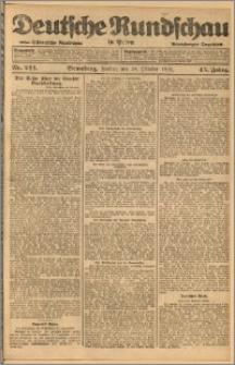 Deutsche Rundschau in Polen. J. 45, 1921, nr 244
