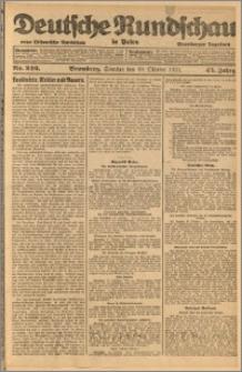 Deutsche Rundschau in Polen. J. 45, 1921, nr 246