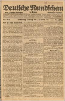 Deutsche Rundschau in Polen. J. 45, 1921, nr 252