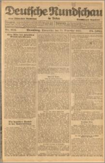Deutsche Rundschau in Polen. J. 45, 1921, nr 254