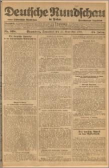 Deutsche Rundschau in Polen. J. 45, 1921, nr 268