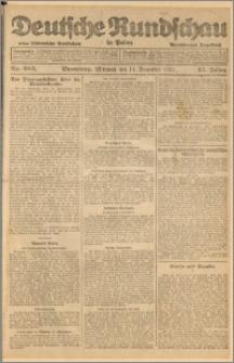 Deutsche Rundschau in Polen. J. 45, 1921, nr 282