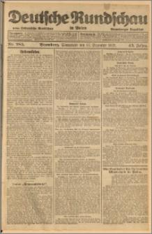 Deutsche Rundschau in Polen. J. 45, 1921, nr 285