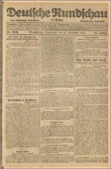 Deutsche Rundschau in Polen. J. 45, 1921, nr 289