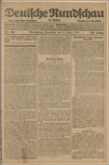 Deutsche Rundschau in Polen. J. 46, 1922, nr 50