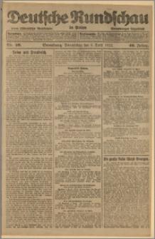 Deutsche Rundschau in Polen. J. 46, 1922, nr 59