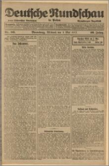 Deutsche Rundschau in Polen. J. 46, 1922, nr 80