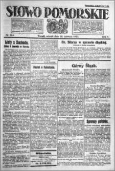 Słowo Pomorskie 1921.06.28 R.1 nr 144