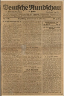 Deutsche Rundschau in Polen. J. 46, 1922, nr 126