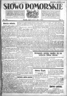 Słowo Pomorskie 1921.07.01 R.1 nr 146