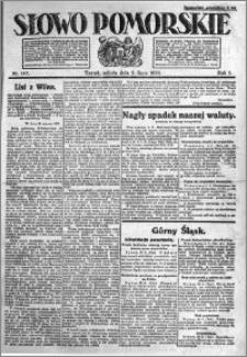 Słowo Pomorskie 1921.07.02 R.1 nr 147